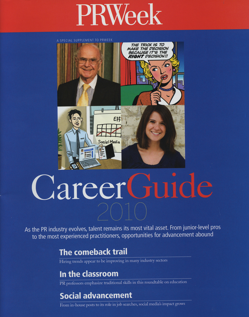[NEWS] PRWeek Career Guide 2010 Feature – Job Hunting on Social Media
